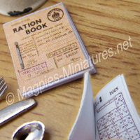 War Years - Ration Book