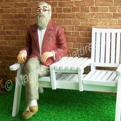 Man - Great Grandfather, Sitting
