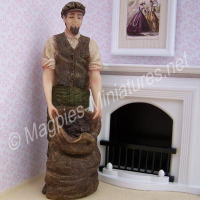 Man - Coal Man with Sack