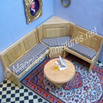 Bar Corner Chair Set