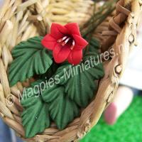Green Leaves - Leaf stems - set of 6