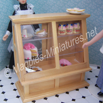 Shop Display Cabinet Pine