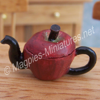 Vegetable Teapot- Red Apple