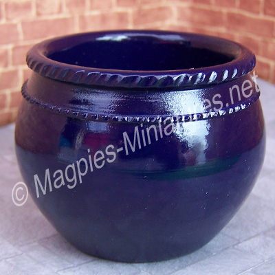Large Planter Navy Blue. Best Quality