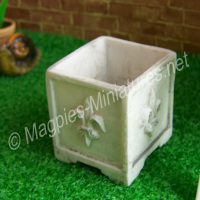 Weathered Square Planter