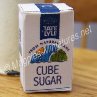 Cube Sugar Packet