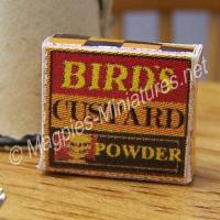Birds Custard Packet- 1950's