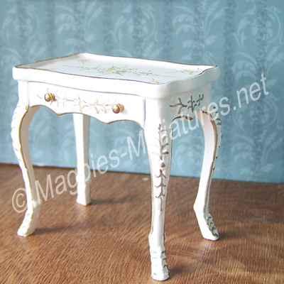 013 - French/Victorian Living Room - Table with Drawer - Jiayi