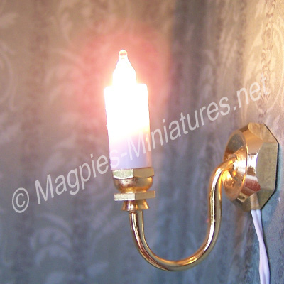 Wall Candle Light Single