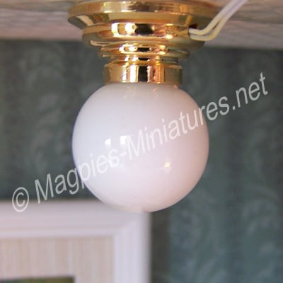 Ceiling Globe Light