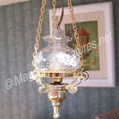 Delux Hanging Oil Lamp