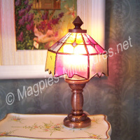 Working Tiffany Style Table Lamp