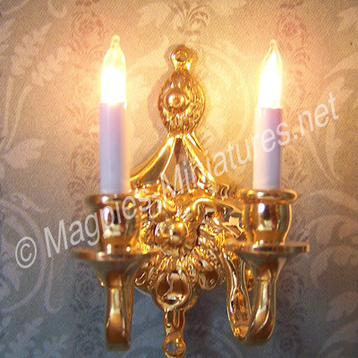 Wall Candle Light : Double Wall Candle Light