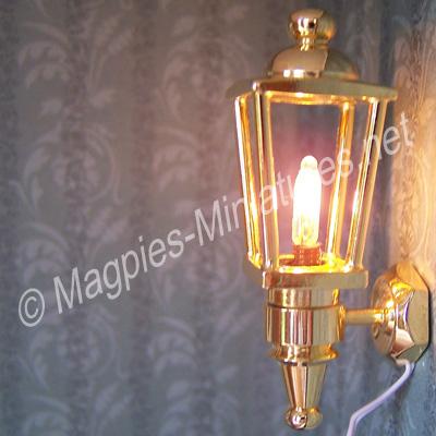 Brass Wall Light