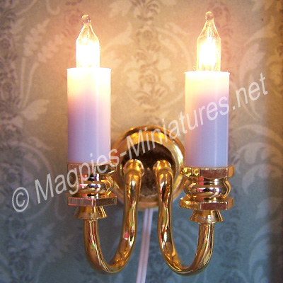 Wall Candle Light, Double