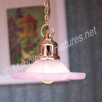 Hanging Daisy Ceiling, light pink