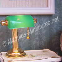 Green Shade Desk Lamp