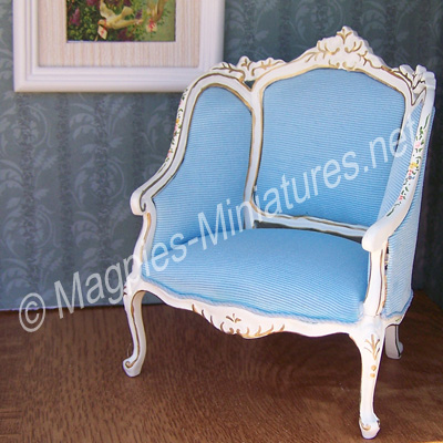 013 - French/Victorian Living - Room Lady's Chair - Jiayi