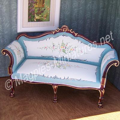 023 - Blue and Cream Living Room - Sofa - Jiayi