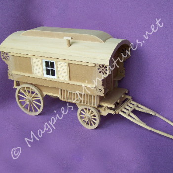Miniature Gypsy Caravan Kit - Beautiful Kit