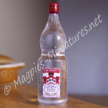 Vodka Bottle - Plastic