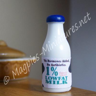 Milk Bottle - Plastic