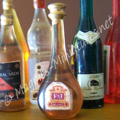 Brandy Bottle - Plastic