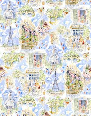 April In Paris - Wallpaper