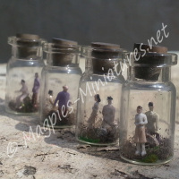 People Trapped in a Jar