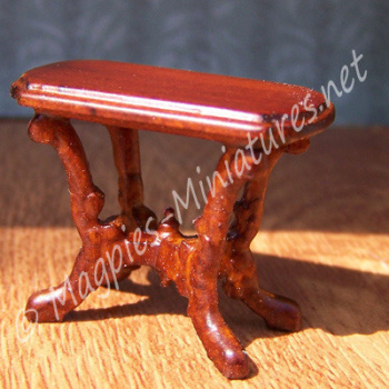 SO16 - Victorian Livingroom - Side Table - Jiayi - 1:24 24th Scale