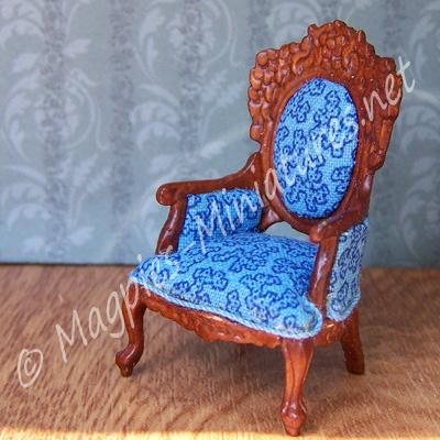 SO16 - 1:24th Victorian Livingroom - Gent's Chair - Jiayi