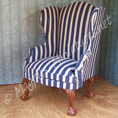8029 - Dark Blue Chair - Jiayi