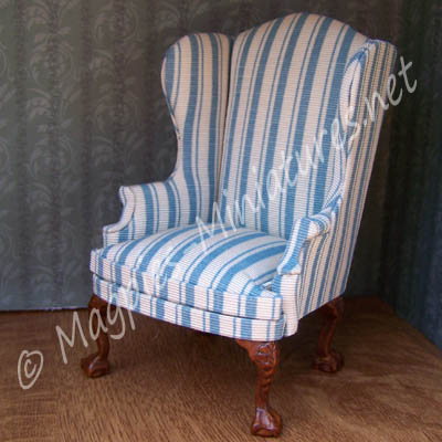 8029 - Light Blue Chair - Jiayi