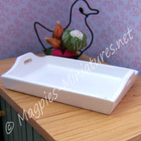 White Tray - Wood