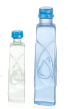 Plastic Water Bottles - Set of 2