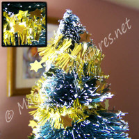 Star Tinsel Gold