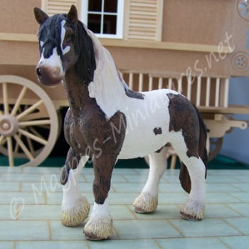Tinker Stallion - Horse -24th Scale