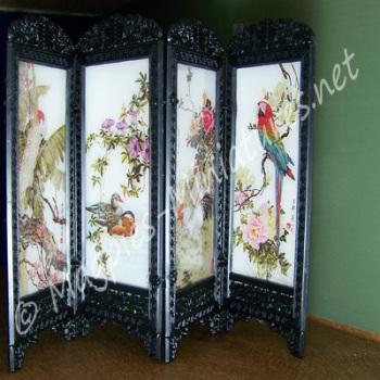 Oriental Folding Screen