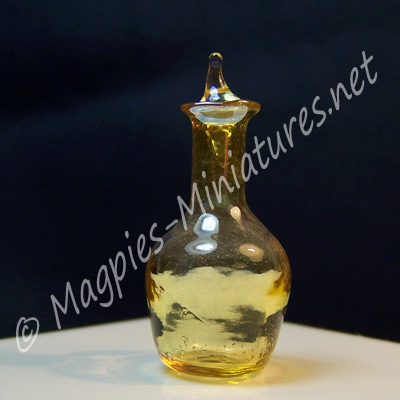 Bottle with Stopper - Glass