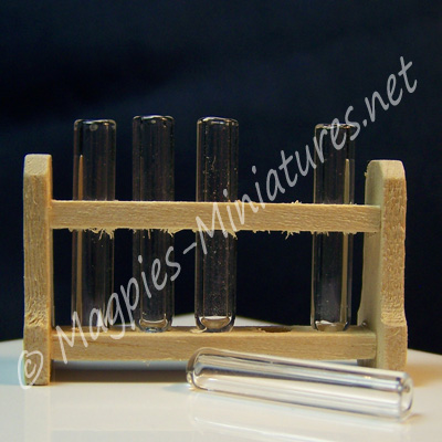 Test Tubes in a Rack
