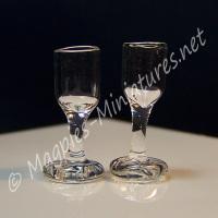 Glass Wine Glasses Pack of 2