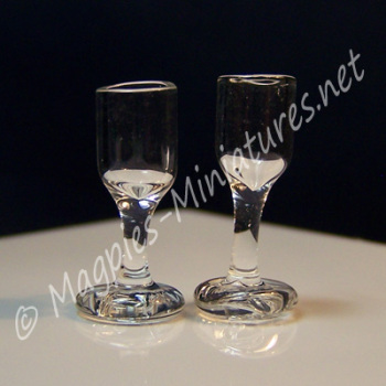 Glass Wine Glasses Pack of 2