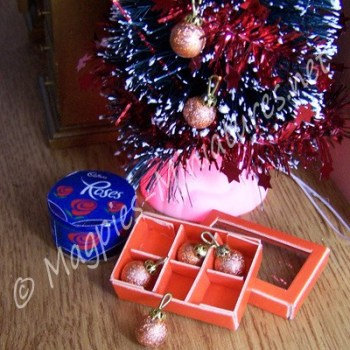 Box of Baubles - Bronze Coloured