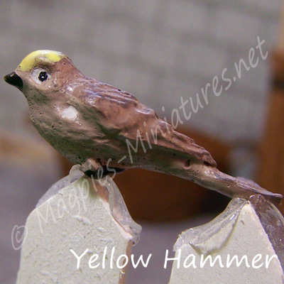 ga249 garden bird - yellow hammer