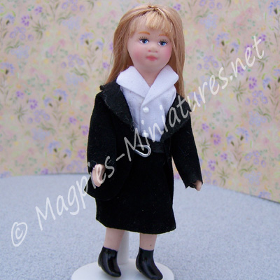 Child - Girl in School Uniform