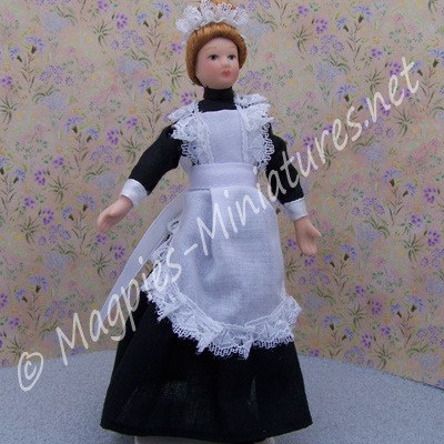 Lady - Maid in Black Dress