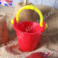 Plastic Bucket - Assorted Colours available