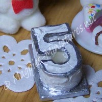 Birthday Cake - Silver 5