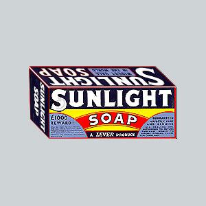 Sunlight Soap - 1890-1910's