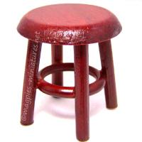 Mahogany Stool / Side Table